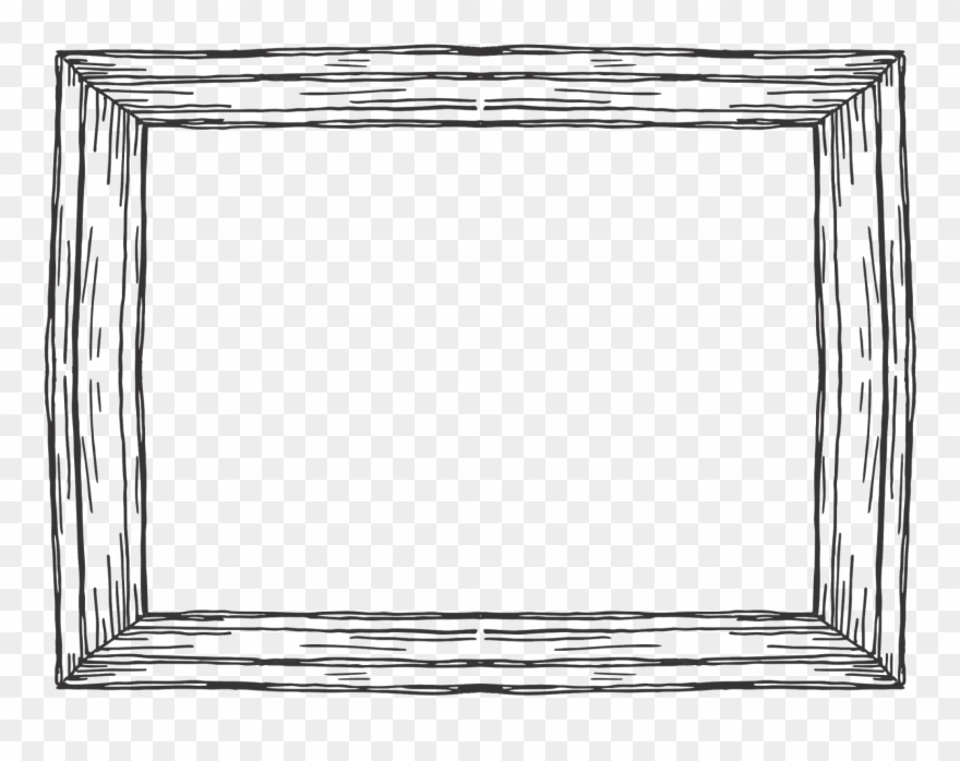 graphic royalty free Rectangular frame clipart. Wooden picture