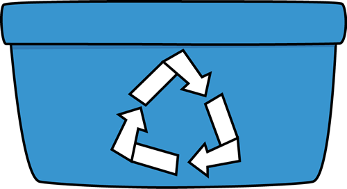 library Recycle Bin Clipart