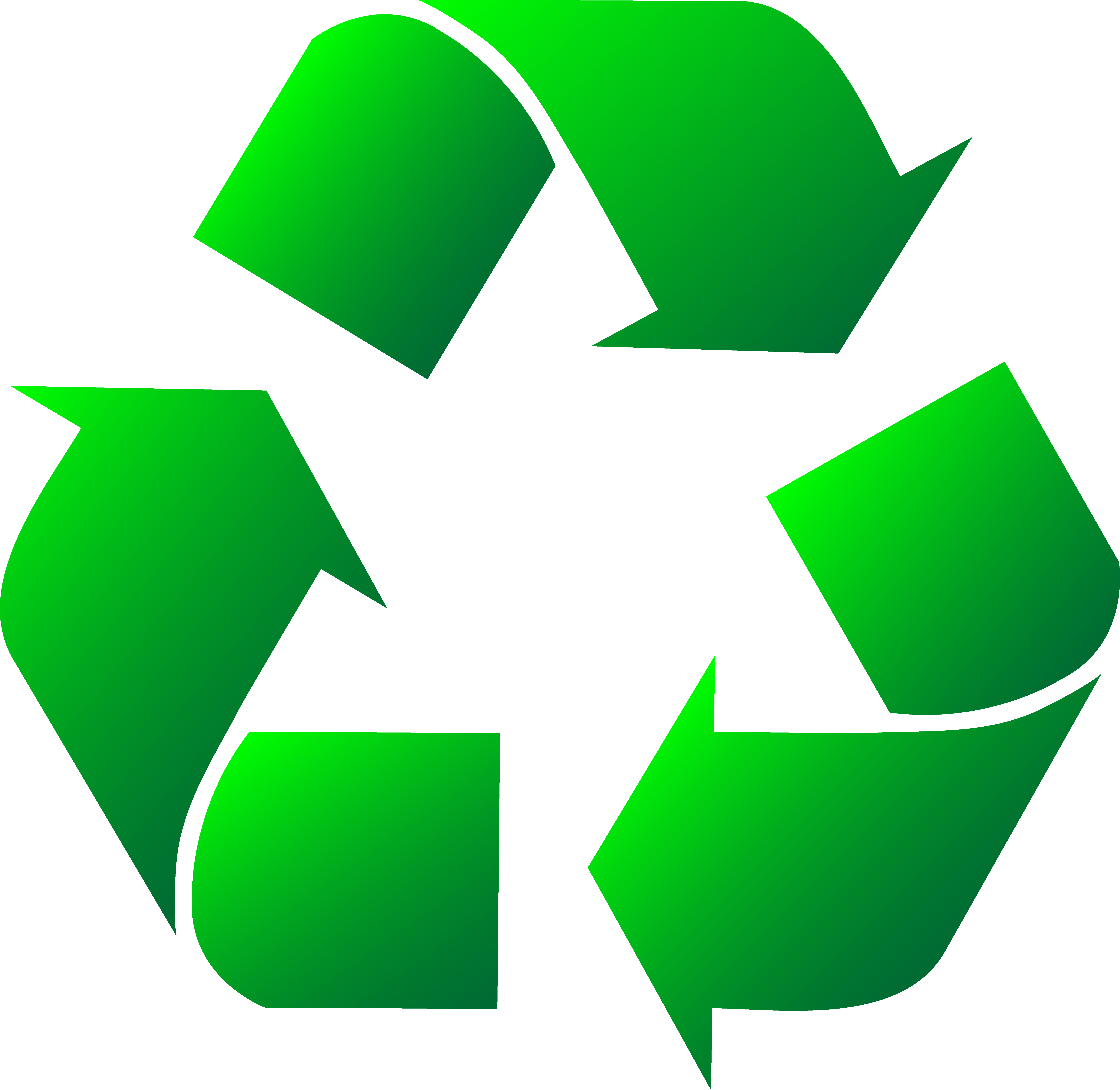 jpg library Recycle clipart. Green symbol clip art.