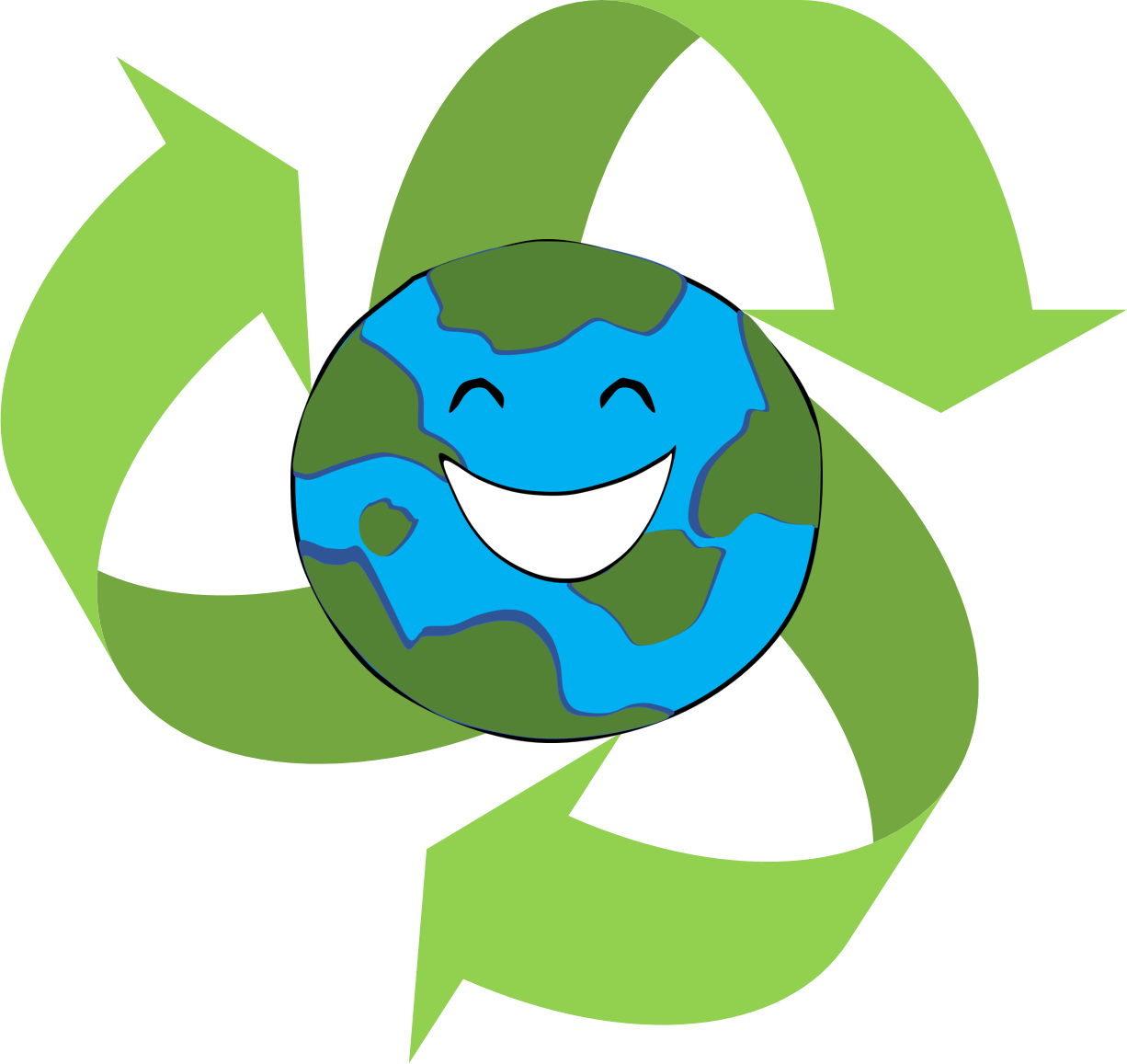 image freeuse library Recycle clipart. Reduce reuse club clipartix.
