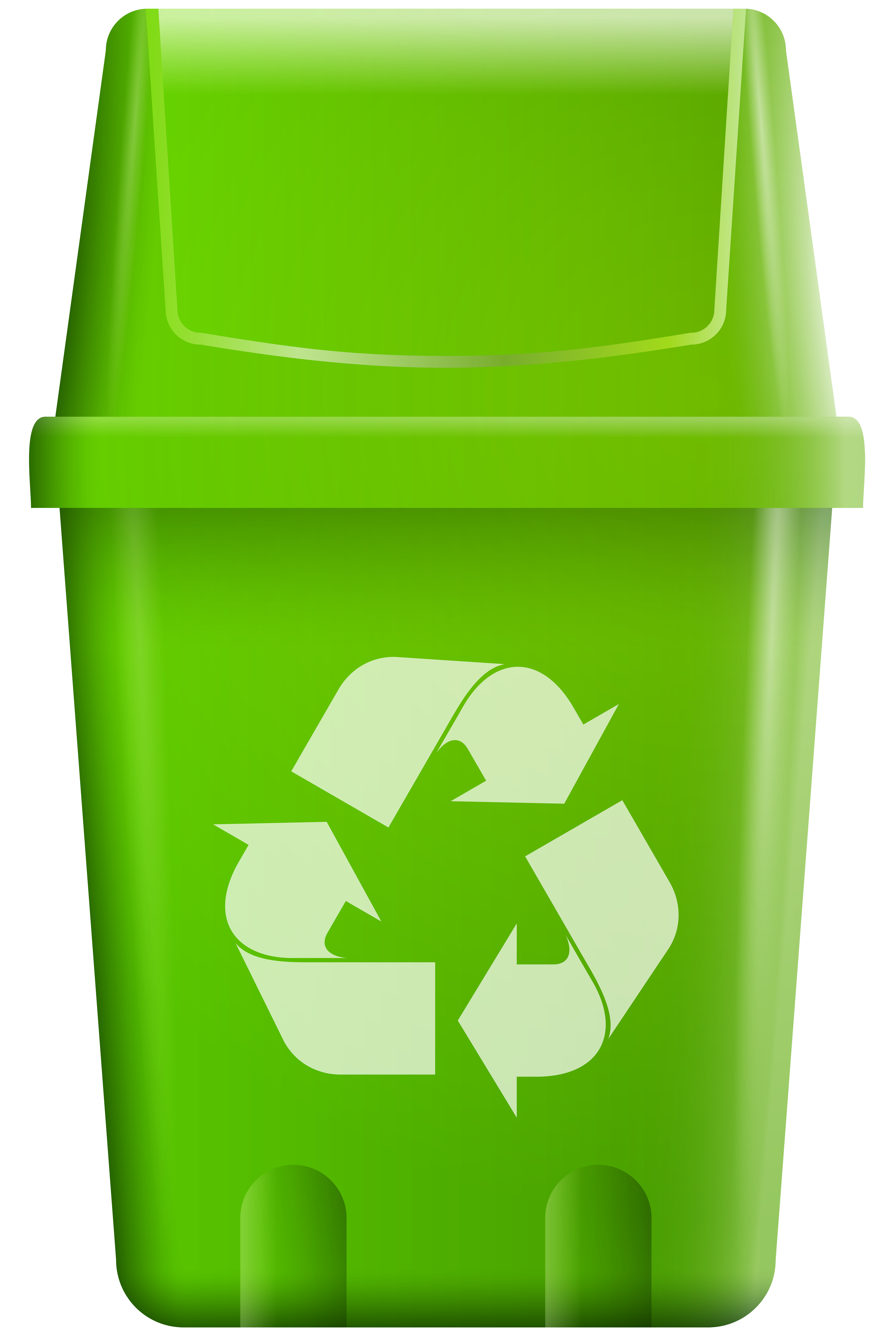 clip art transparent library Trash bin with recycle. Trashcan clipart recycling box