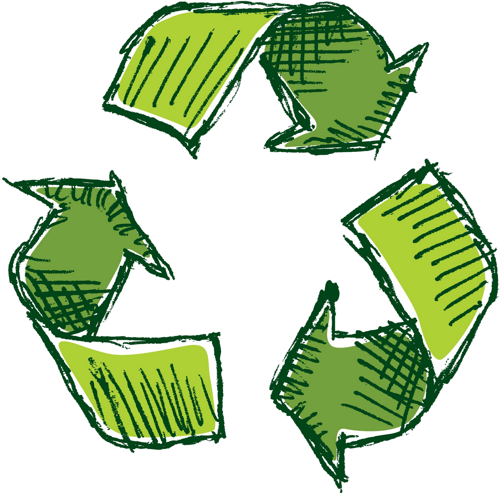 jpg free stock Png transparent free images. Recycle drawing
