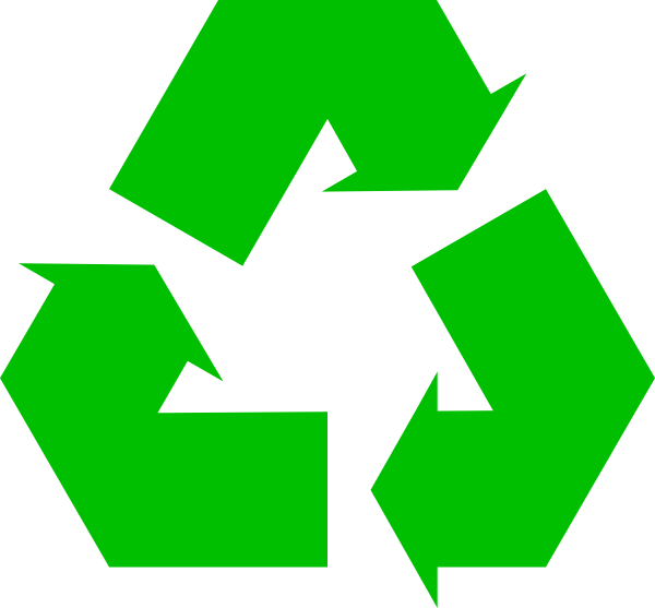 graphic free stock Green Recycle Symbol Clip Art at Clker