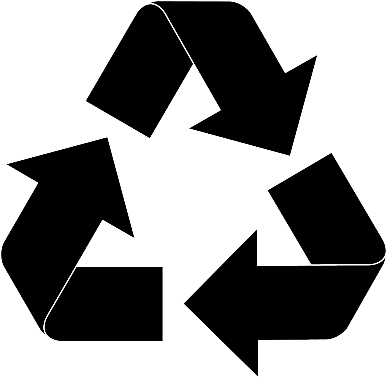 royalty free Recycle Symbol transparent PNG