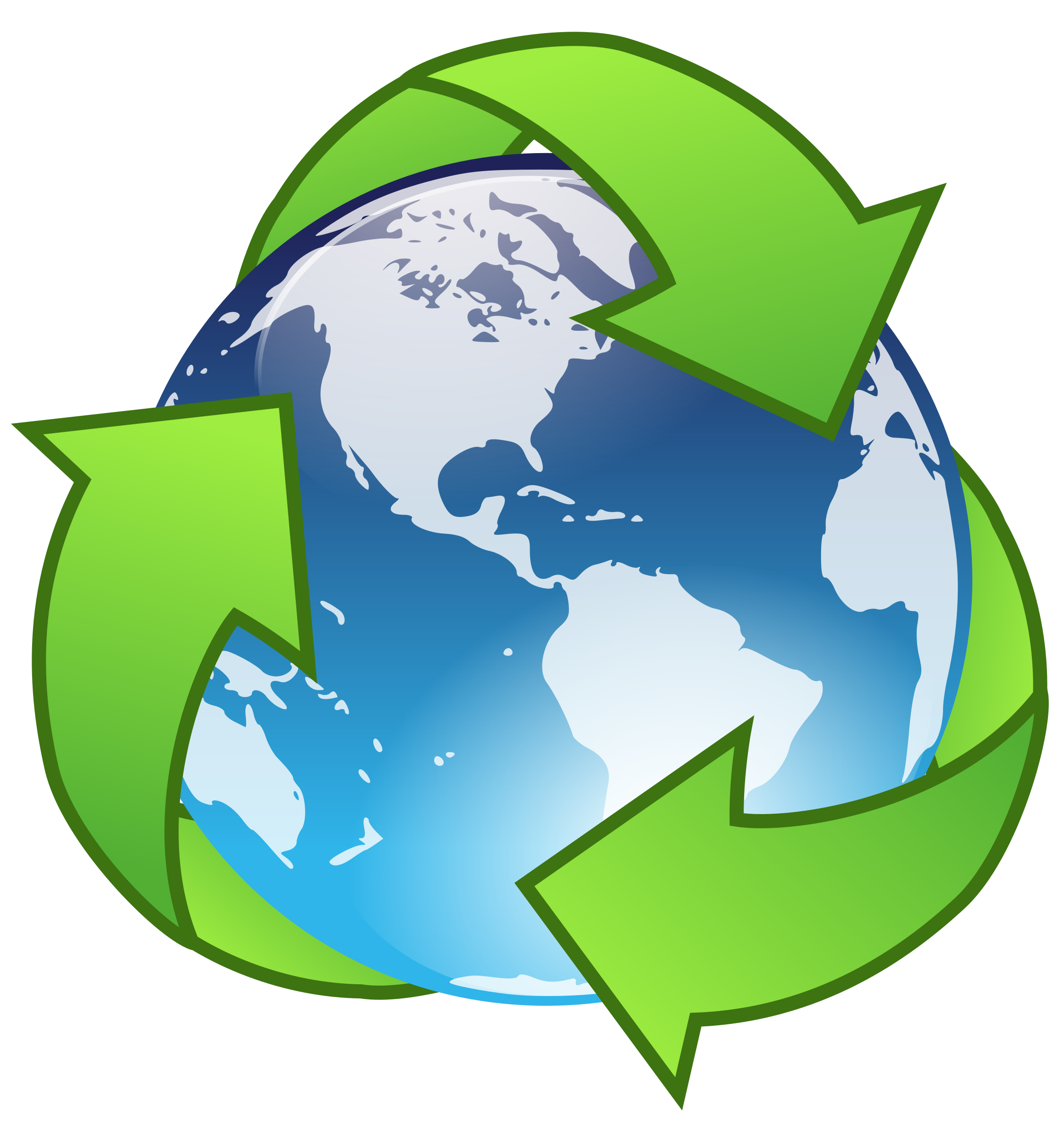 png library Recycling clipart. Crystal earth recycle big.