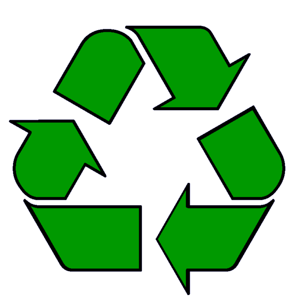 jpg royalty free library Recycling clipart. Animated recycle symbol clip.