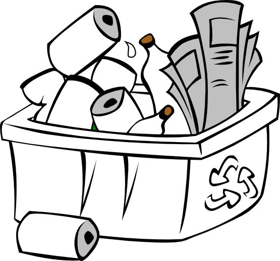 png Recycling Black And White Clipart