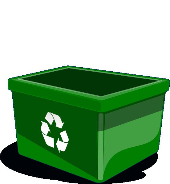 stock Recycle bin clip art. Trashcan clipart recycling box.