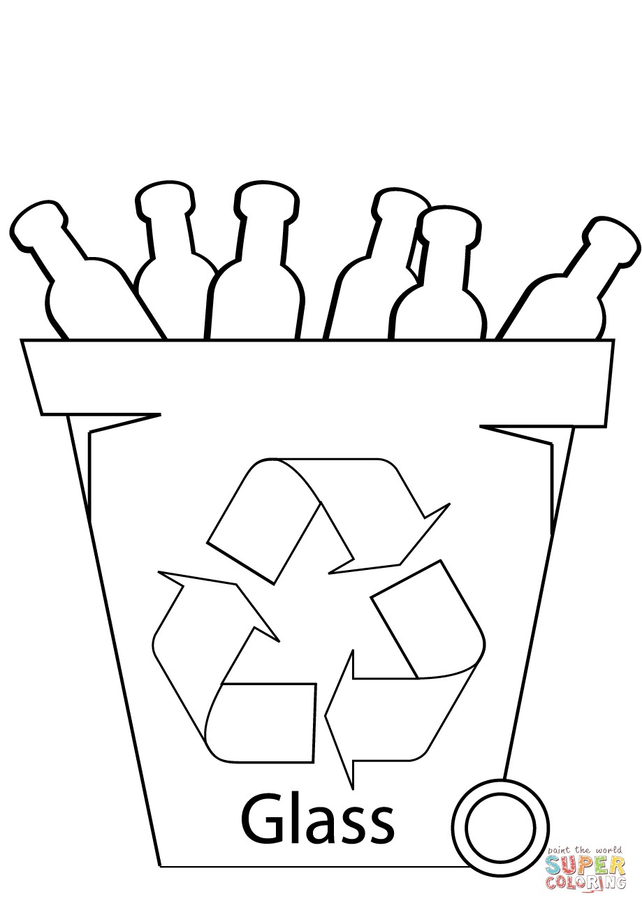 clip royalty free Recycle bin at paintingvalley. Recycling drawing color