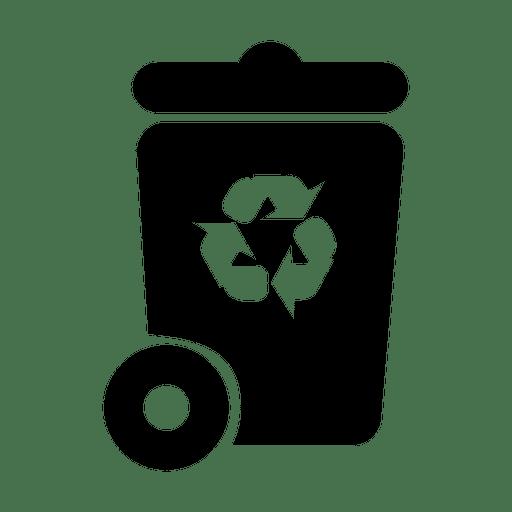 jpg library library Vector concepts symbols. Recycle trash symbol svg