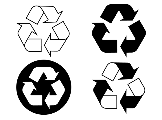 clipart royalty free download Free recycle download clip. Recycling vector paper icon