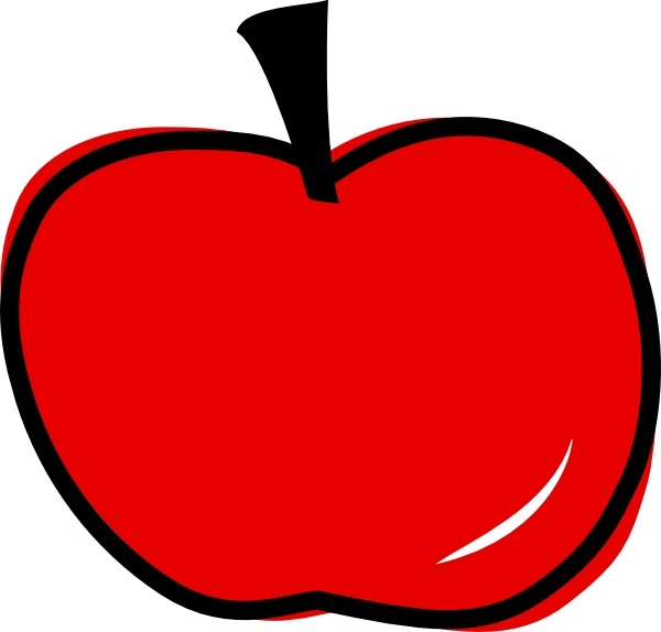 clipart freeuse stock Apple clip art free. Red apples clipart.
