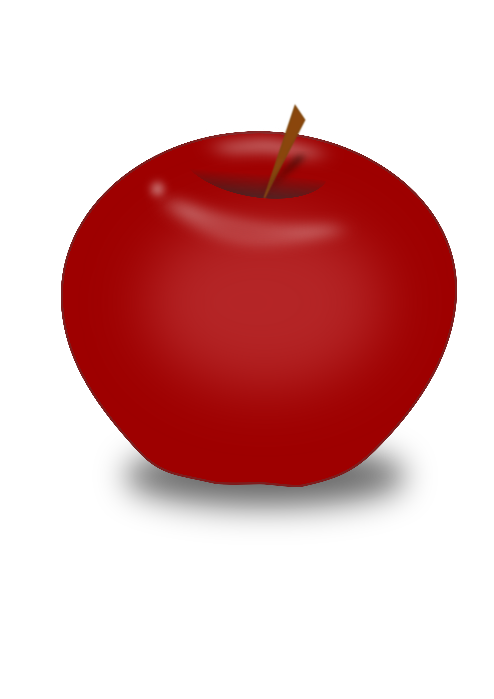graphic free download Red apples clipart. Apple png image purepng