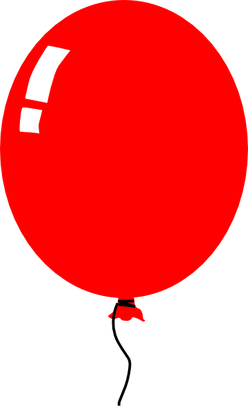 image free stock Red Balloon Clip Art at Clker