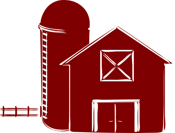 picture royalty free download Traditional Barn Clip Art at Clker
