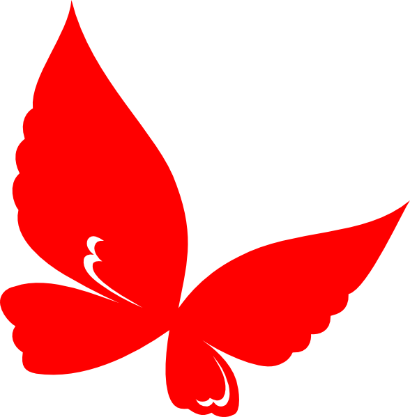 png library red butterfly clipart #60314177