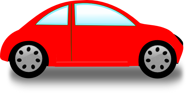vector freeuse library Red Car Clip Art at Clker