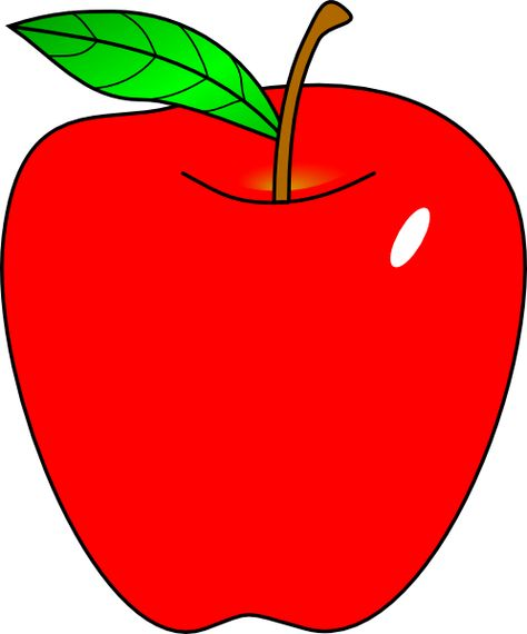 image library stock Clipart of apples. Cartoon apple red clip