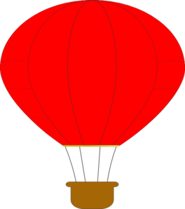 png freeuse Vector balloon red. Hot air clip art