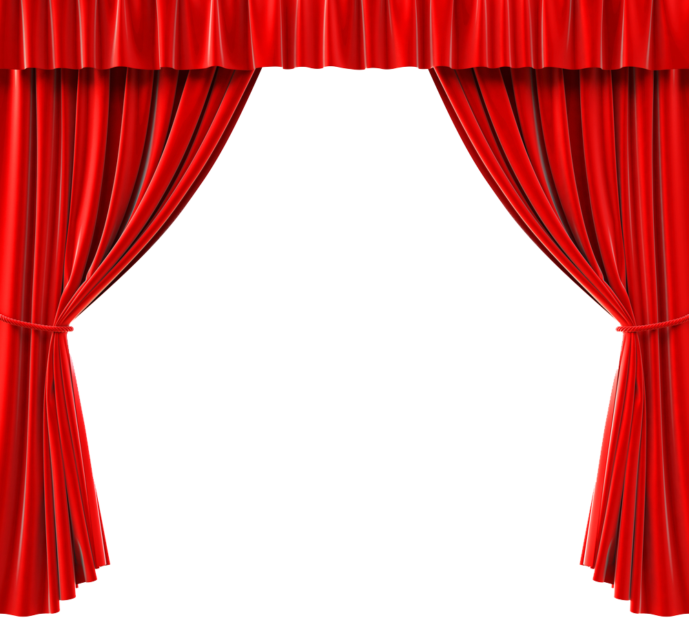 royalty free Free Red Curtain PNG Image