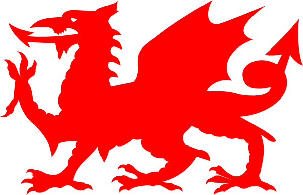 jpg freeuse library Welsh Red Dragon Clip Art at Clker