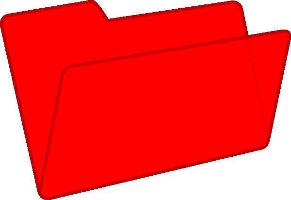 banner transparent download Red Folder Clip Art at Clker