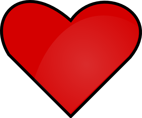 clipart library download Red Heart Clipart