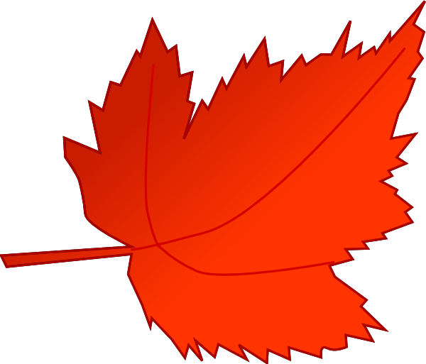 image library download Maple Red Leaf Clip Art at Clker