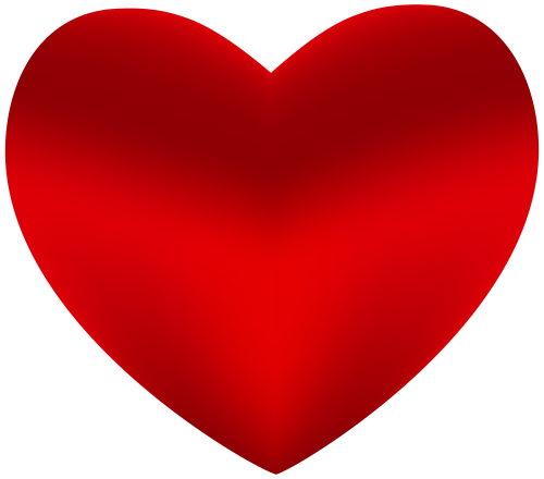 picture stock Beautiful Red Heart PNG Clipart
