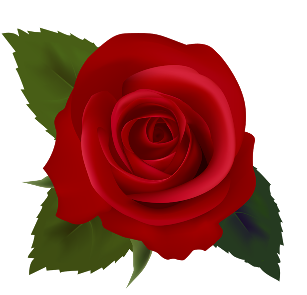 svg free Red Rose Clipart