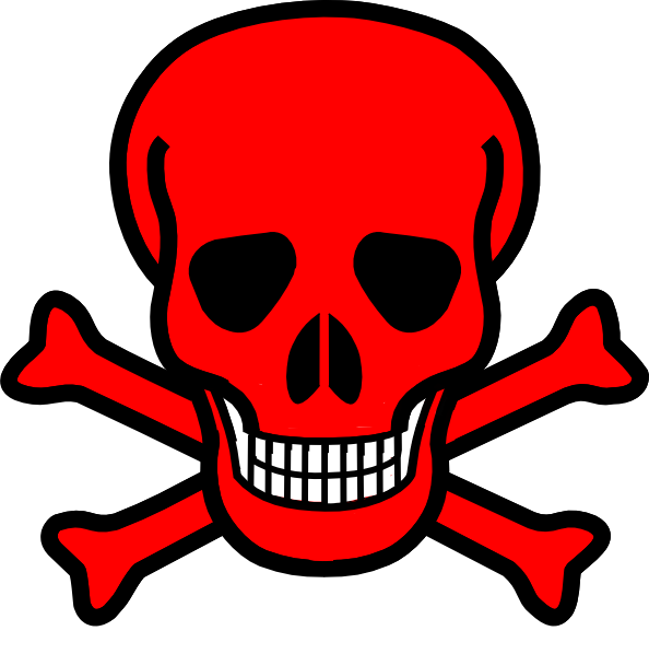 graphic library download Red Skull Clip Art at Clker