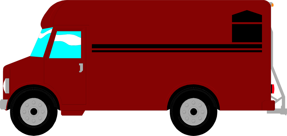 image royalty free library Ups Truck Clipart at GetDrawings
