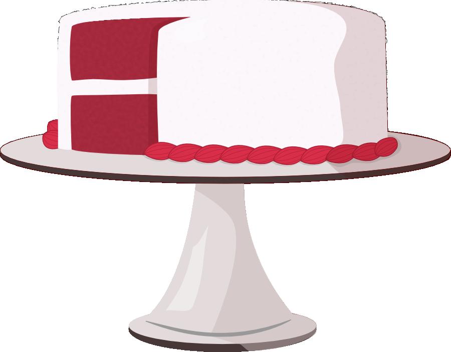 image transparent download Red Velvet Cake Clipart