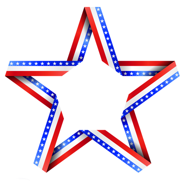png free Red White And Blue Star PNG Transparent Red White And Blue Star