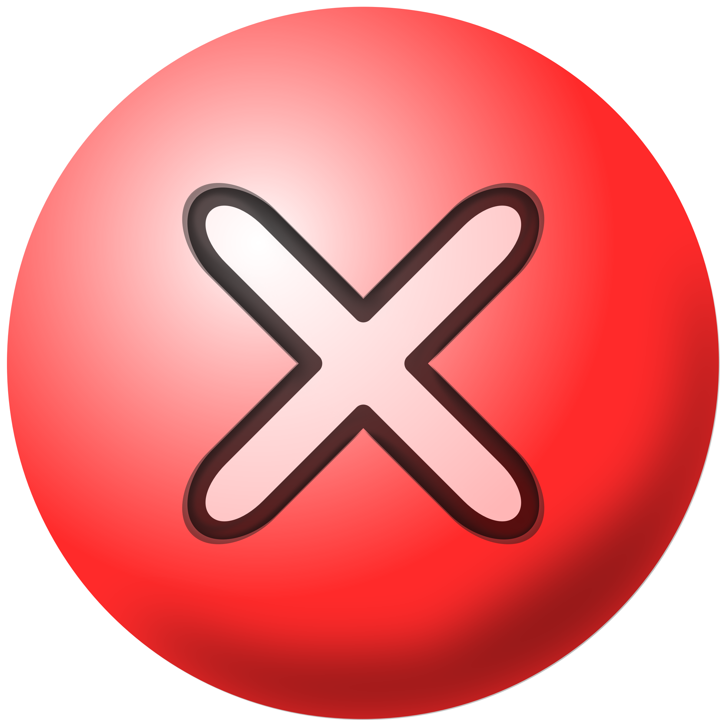 clipart free stock Icon. Red x clipart