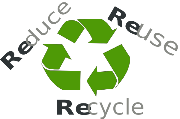 graphic royalty free stock Reduce Reuse Recycle Clipart