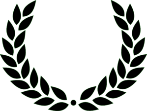 banner transparent library Laurel Wreath Clip Art at Clker