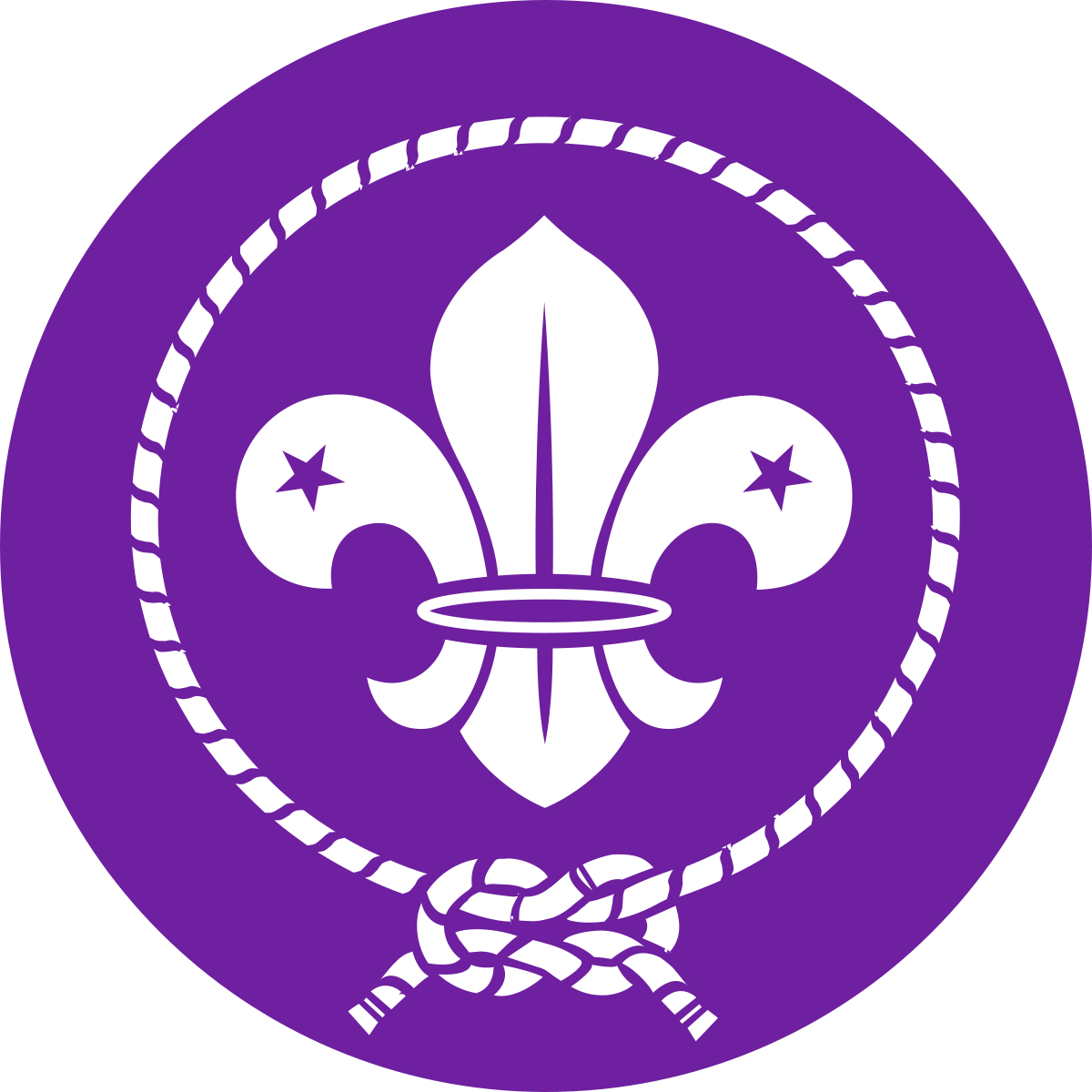 clipart royalty free World scout emblem wikipedia. Vector crest rope