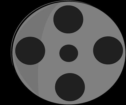 clipart black and white Reel clipart. Movie clip art panda.
