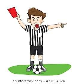 clip transparent Soccer portal . Referee clipart.