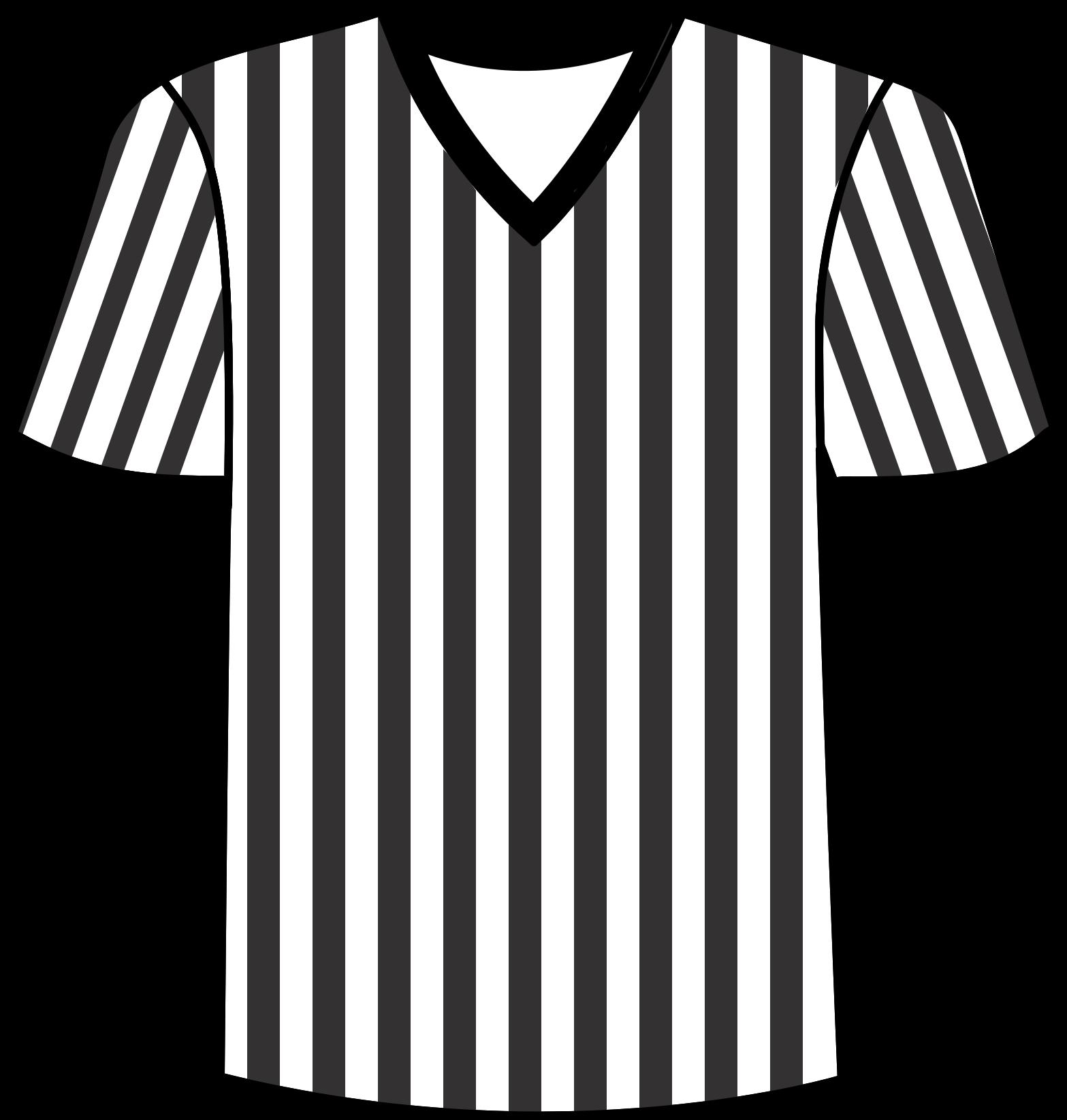 vector Football shirt big image. Referee clipart.