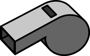 banner freeuse Whistle Clip Art at Clker