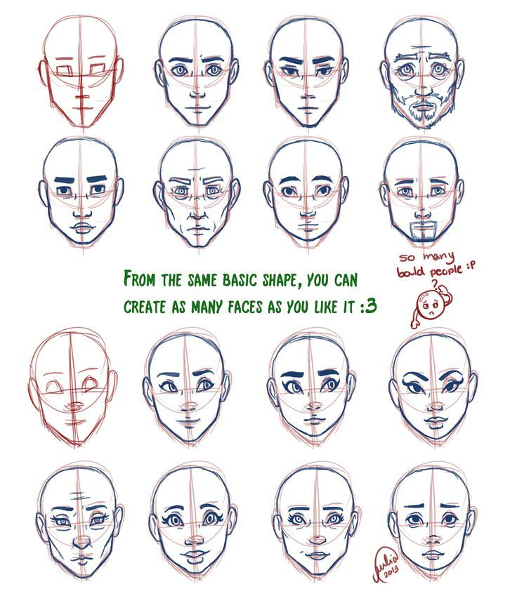 banner freeuse library References drawing face shape. Geek drawings in
