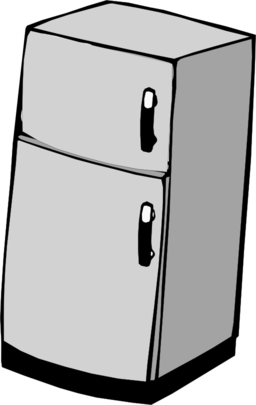 banner stock I royalty free public. Refrigerator clipart.