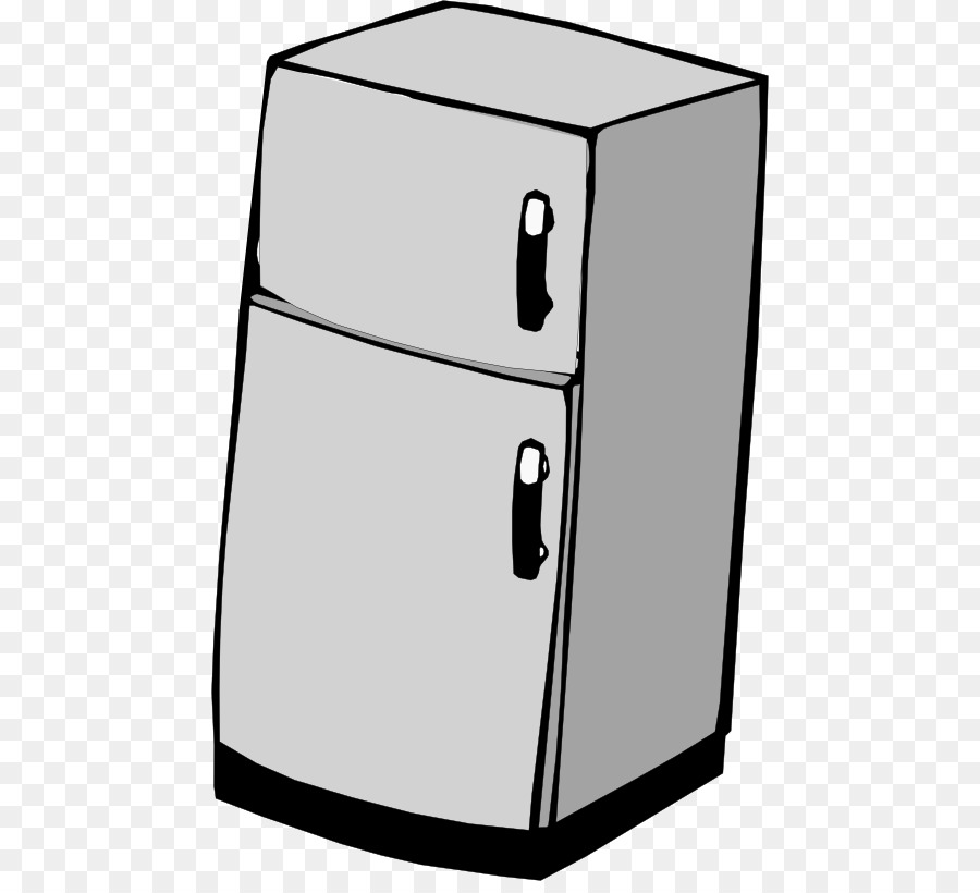 vector Refrigerator clipart free. Transparent for