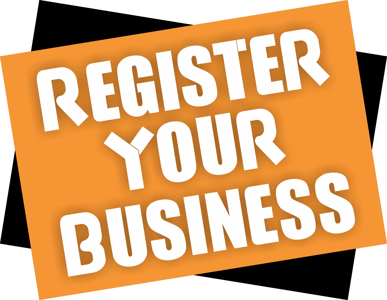 banner free stock Businesses to face sanction. Register clipart registrar