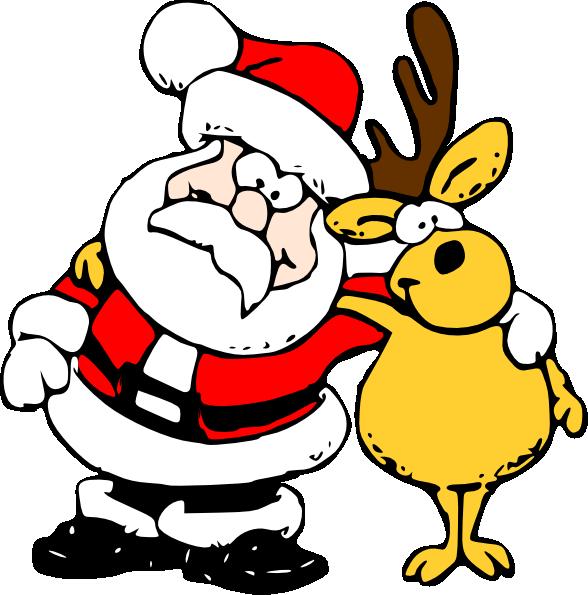 clip freeuse stock Tutoring clipart peer. Santa and reindeer clip