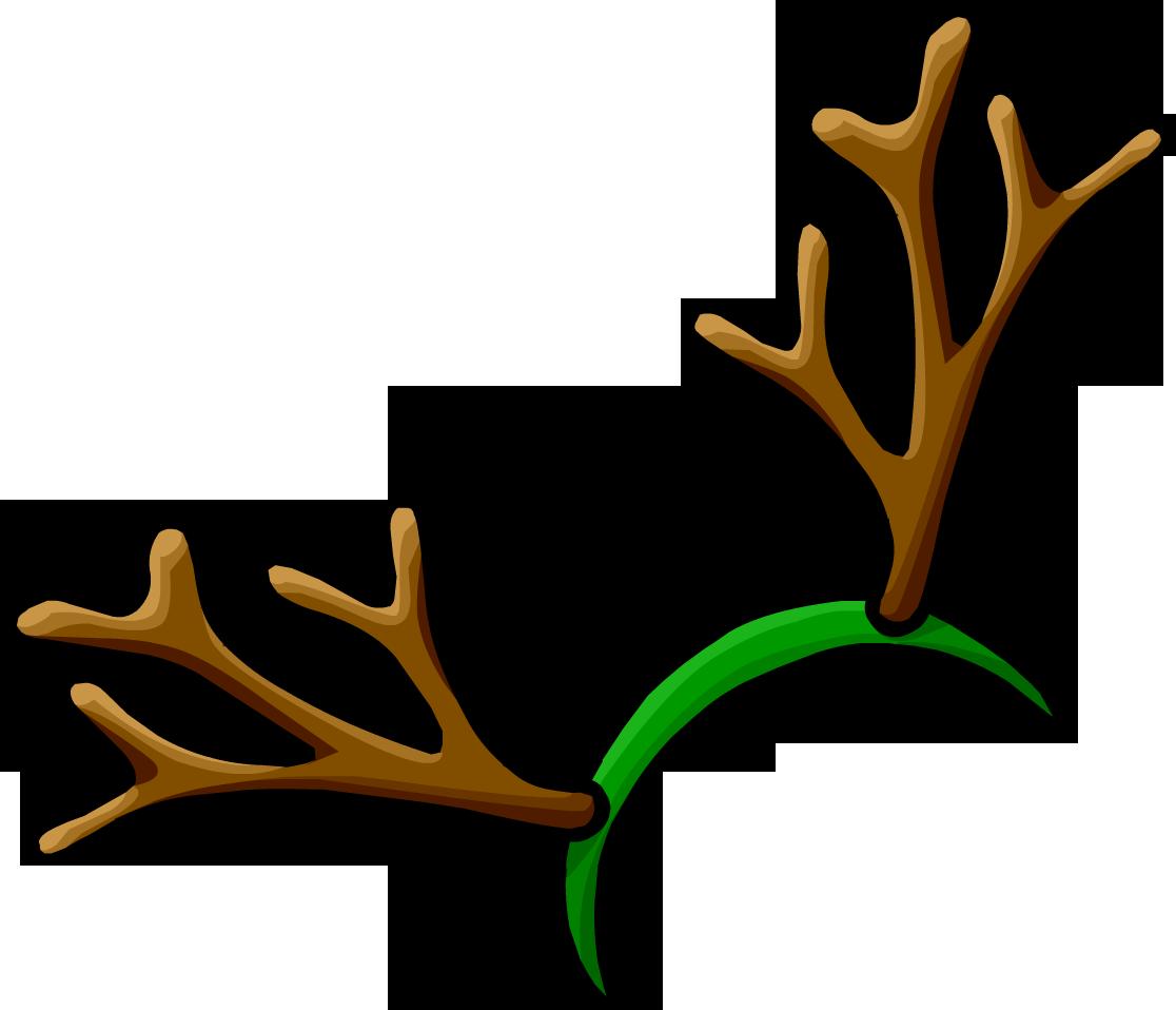 svg transparent antlers transparent reindeer #109549395