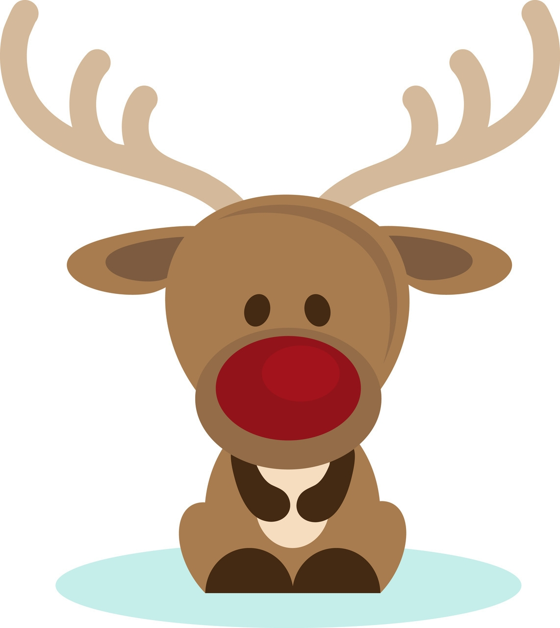 png download Cute christmas wikiclipart . Reindeer clipart.
