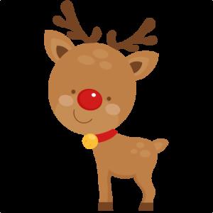 image download Reindeer clipart. Cute svg scrapbook cut.